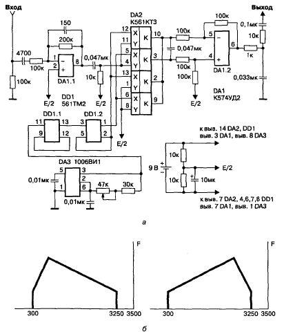 Радиолюбительские схемы защиты телефонных линий телефонные шифратор схема.